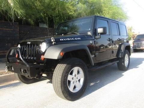 2012 Jeep Wrangler Unlimited for sale at Van Buren Motors in Phoenix AZ