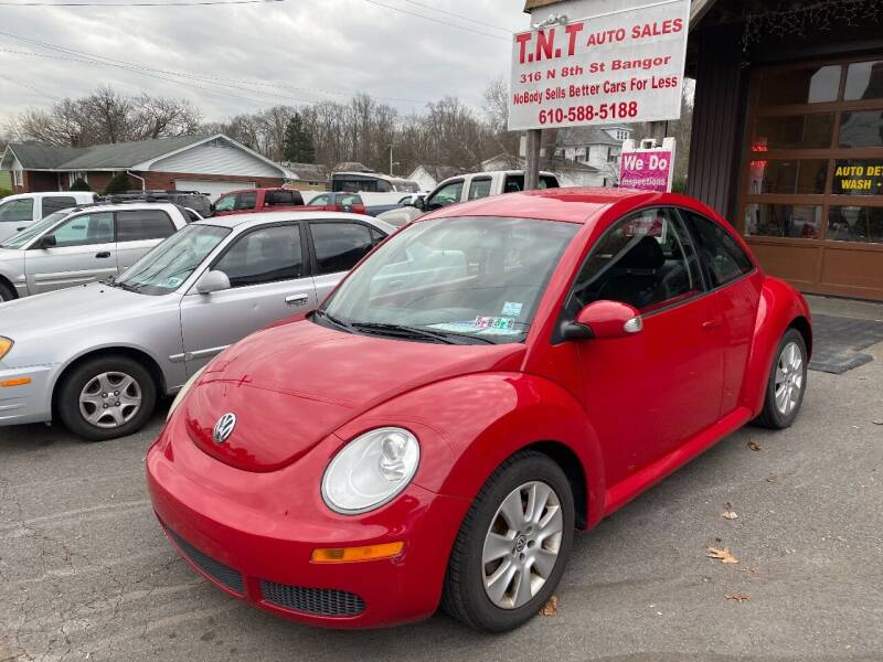 2009 Volkswagen New Beetle for sale at TNT Auto Sales in Bangor PA