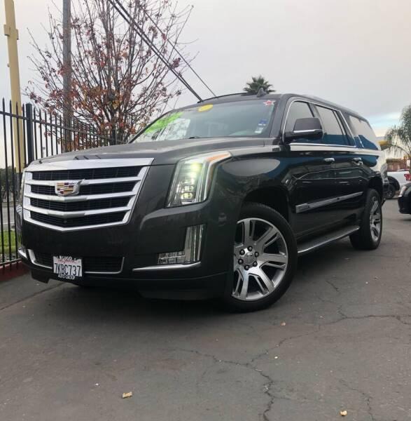 2015 Cadillac Escalade ESV for sale at LUGO AUTO GROUP in Sacramento CA