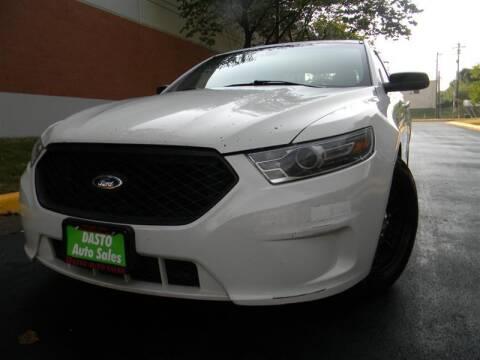 2016 Ford Taurus for sale at Dasto Auto Sales in Manassas VA