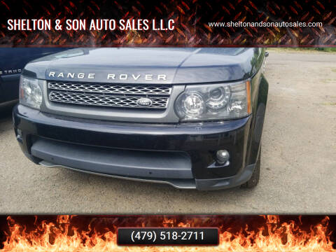 2011 Land Rover Range Rover Sport for sale at Shelton & Son Auto Sales L.L.C in Dover AR