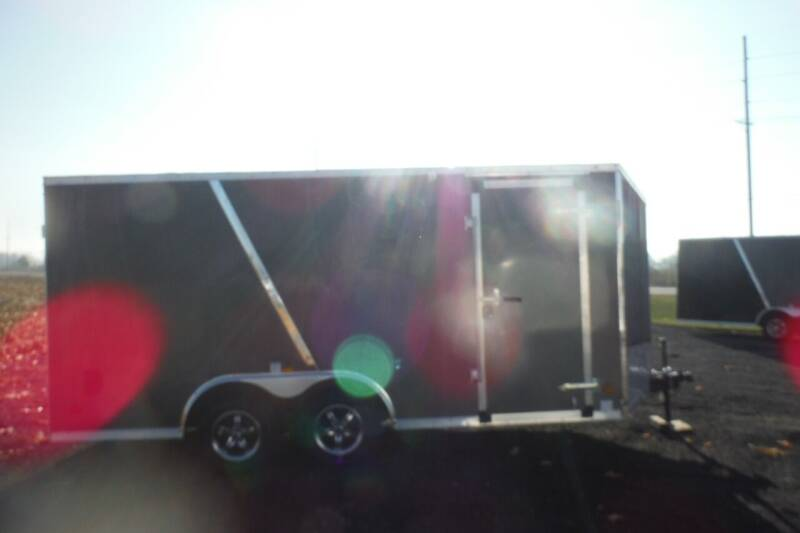 2021 US Cargo 8.5 X 16 FLATTOP V NOISE for sale at Bryan Auto Depot in Bryan OH