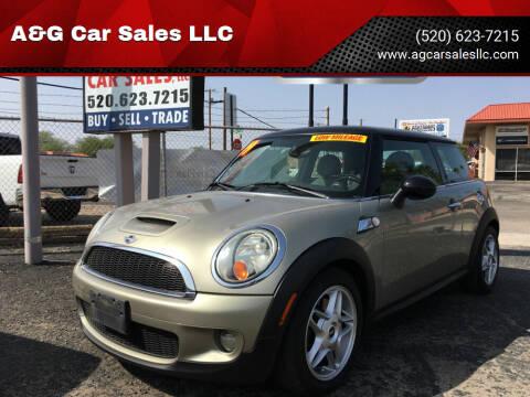 2009 MINI Cooper for sale at A&G Car Sales  LLC in Tucson AZ