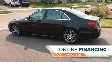2015 Mercedes-Benz S-Class for sale at Sunrise Auto Sales in Stacy MN