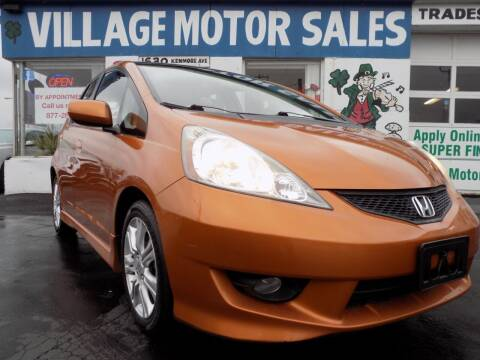 2009 Honda Fit for sale at Village Motor Sales in Buffalo NY