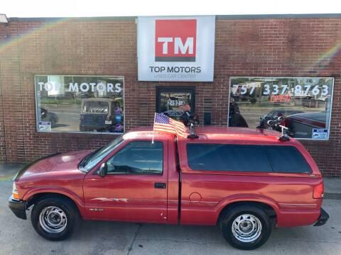 1998 Chevrolet S-10 for sale at Top Motors LLC in Portsmouth VA