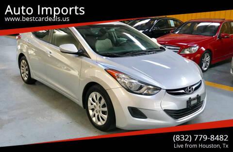 2013 Hyundai Elantra for sale at Auto Imports in Houston TX