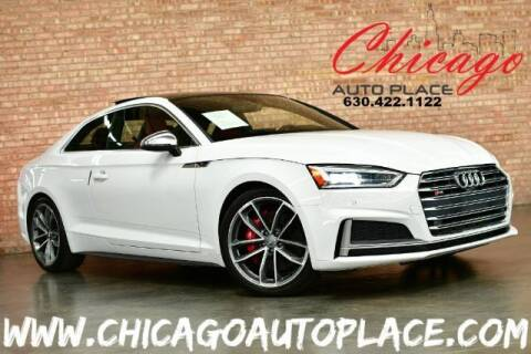 2018 Audi S5 for sale at Chicago Auto Place in Bensenville IL
