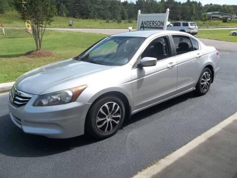 2012 Honda Accord for sale at Anderson Wholesale Auto in Warrenville SC