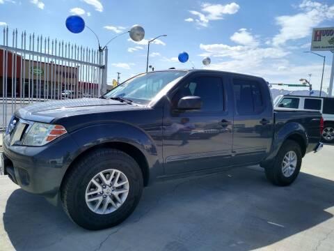 2015 Nissan Frontier for sale at Hugo Motors INC in El Paso TX