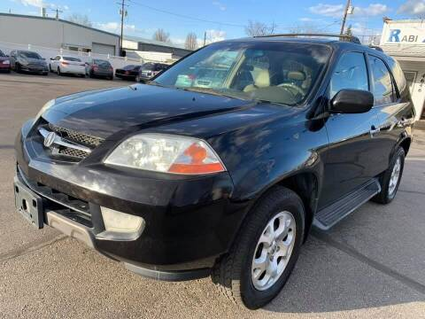 2001 Acura MDX for sale at RABI AUTO SALES LLC in Garden City ID