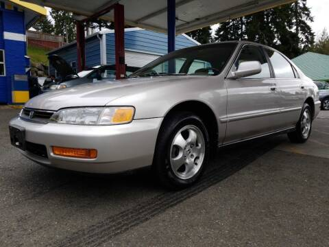 1997 Honda Accord for sale at Shoreline Family Auto Care And Sales in Shoreline WA