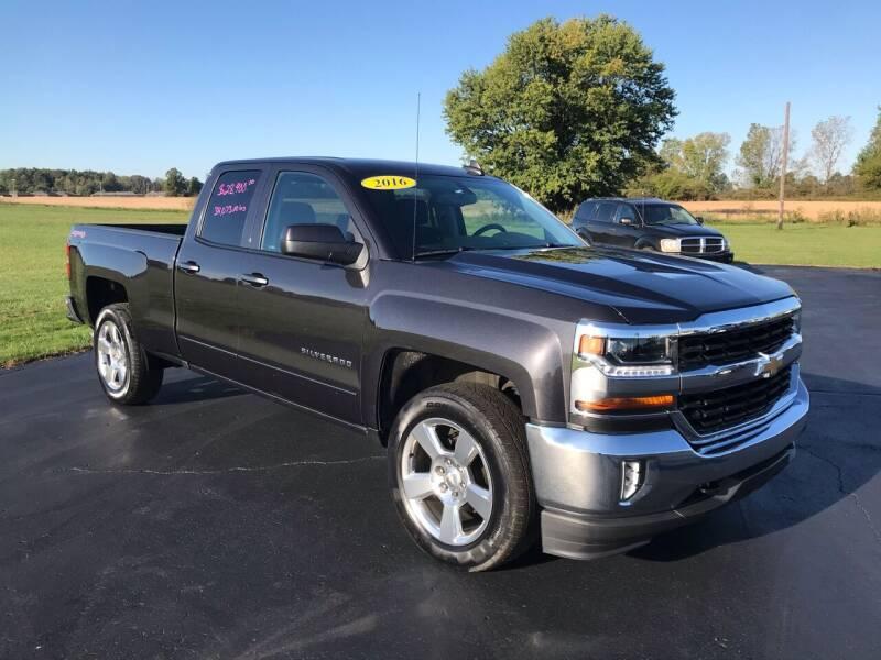 2016 Chevrolet Silverado 1500 for sale at Huggins Auto Sales in Hartford City IN