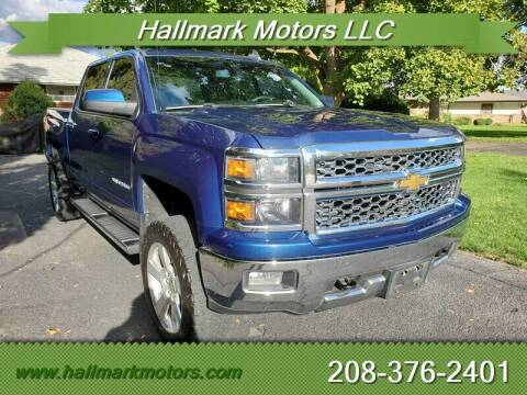 2015 Chevrolet Silverado 1500 for sale at HALLMARK MOTORS LLC in Boise ID