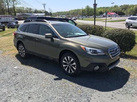 2015 Subaru Outback for sale at Clayton Auto Sales in Winston-Salem NC