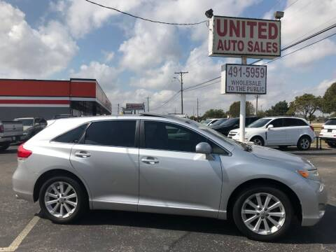 2011 Toyota Venza for sale at United Auto Sales in Oklahoma City OK