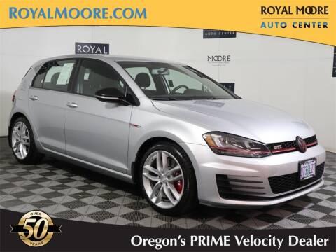 2017 Volkswagen Golf GTI for sale at Royal Moore Custom Finance in Hillsboro OR