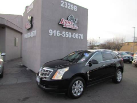 2010 Cadillac SRX for sale at LIONS AUTO SALES in Sacramento CA