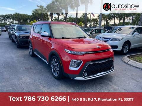 2020 Kia Soul for sale at AUTOSHOW SALES & SERVICE in Plantation FL