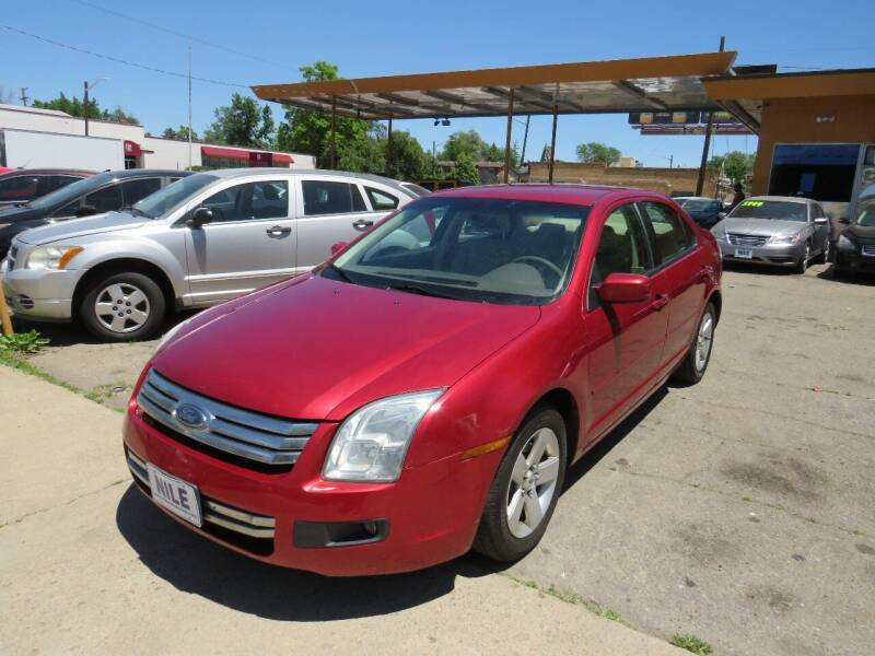 2006 Ford Fusion for sale at Nile Auto Sales in Denver CO