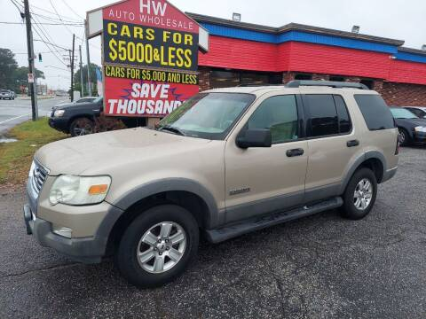 2006 Ford Explorer for sale at HW Auto Wholesale in Norfolk VA