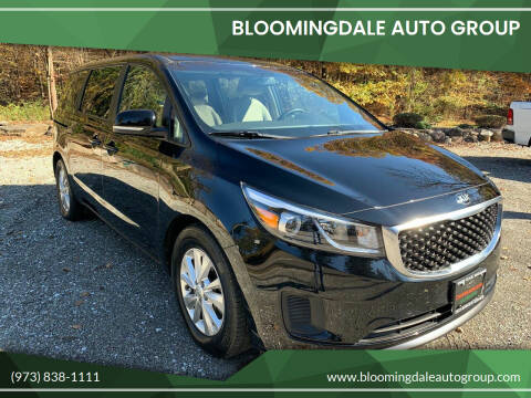 2017 Kia Sedona for sale at Bloomingdale Auto Group in Bloomingdale NJ