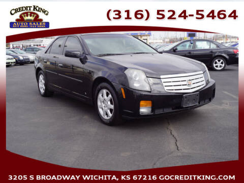 2006 Cadillac CTS for sale at Credit King Auto Sales in Wichita KS