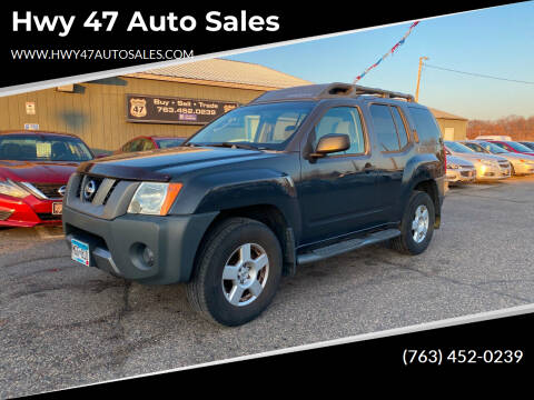 2005 Nissan Xterra for sale at Hwy 47 Auto Sales in Saint Francis MN
