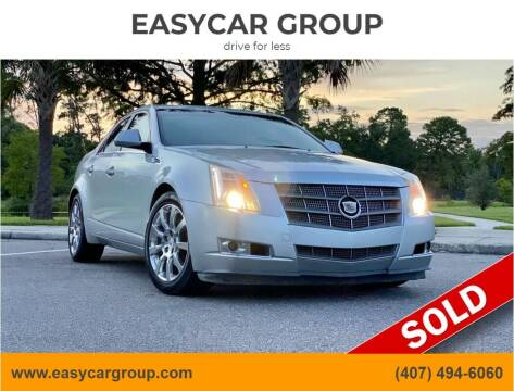 2009 Cadillac CTS for sale at EASYCAR GROUP in Orlando FL
