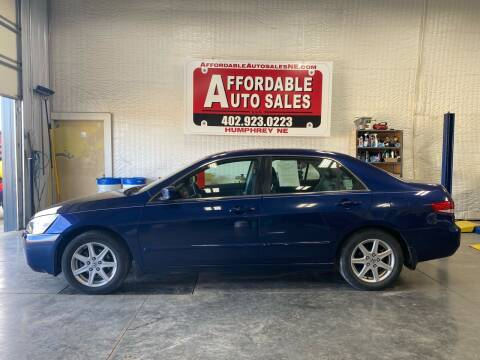 2003 Honda Accord for sale at Affordable Auto Sales in Humphrey NE