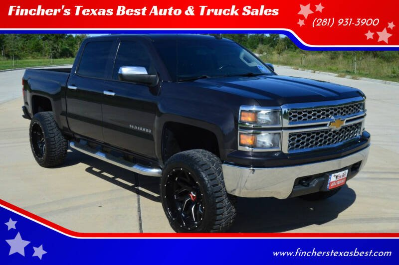 2014 Chevrolet Silverado 1500 for sale at Fincher's Texas Best Auto & Truck Sales in Tomball TX
