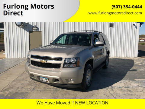 2008 Chevrolet Tahoe for sale at Furlong Motors Direct in Faribault MN
