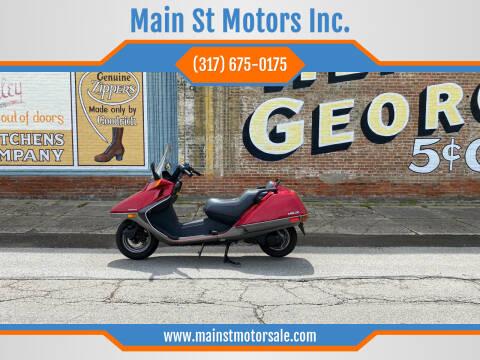 1986 Honda Helix for sale at Main St Motors Inc. in Sheridan IN
