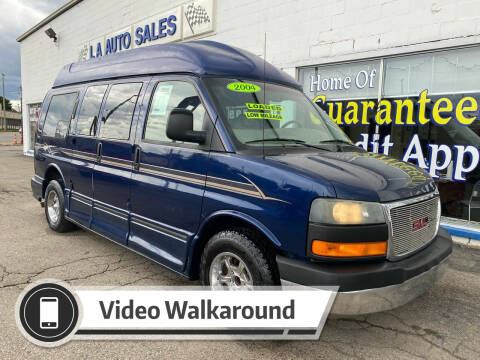 2004 GMC Savana Cargo for sale at LA Auto & RV Sales and Service in Lapeer MI