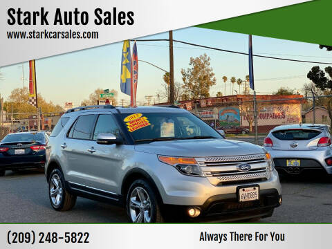 2013 Ford Explorer for sale at Stark Auto Sales in Modesto CA