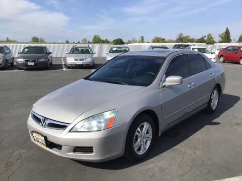 2007 Honda Accord for sale at My Three Sons Auto Sales in Sacramento CA