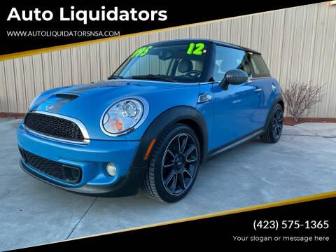 2012 MINI Cooper Hardtop for sale at Auto Liquidators in Bluff City TN