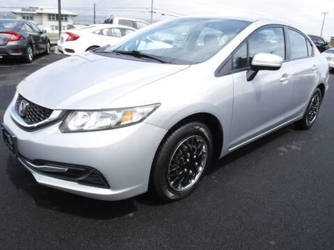 2014 Honda Civic for sale at PONO'S USED CARS in Hilo HI