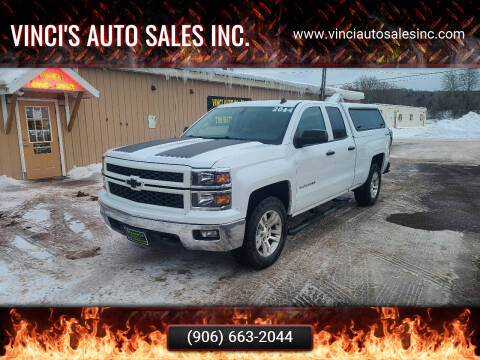 2014 Chevrolet Silverado 1500 for sale at Vinci's Auto Sales Inc. in Bessemer MI