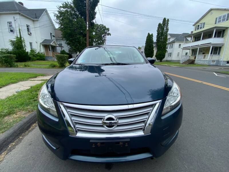 2013 Nissan Sentra for sale at AR's Used Car Sales LLC in Danbury CT