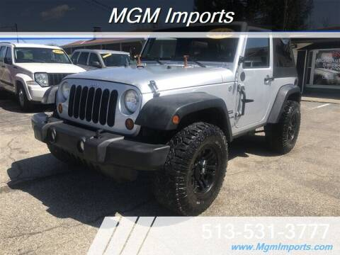 2010 Jeep Wrangler for sale at MGM Imports in Cincannati OH