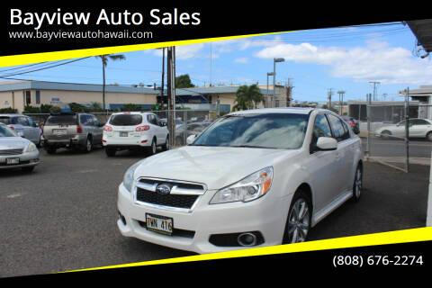2013 Subaru Legacy for sale at Bayview Auto Sales in Waipahu HI