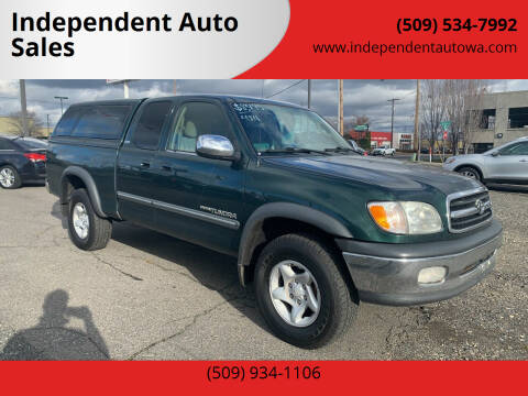 2002 Toyota Tundra for sale at Independent Auto Sales #2 in Spokane WA