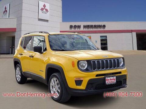 2019 Jeep Renegade for sale at DON HERRING MITSUBISHI in Irving TX