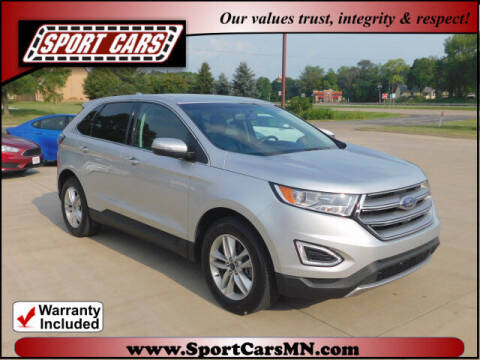 2015 Ford Edge for sale at SPORT CARS in Norwood MN