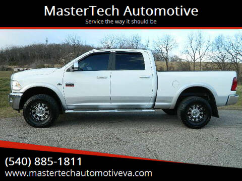 2012 RAM Ram Pickup 2500 for sale at MasterTech Automotive in Staunton VA