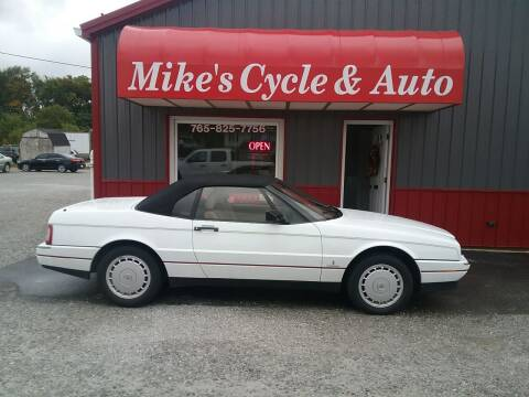 1992 Cadillac Allante for sale at MIKE'S CYCLE & AUTO - Mikes Cycle and Auto (Liberty) in Liberty IN