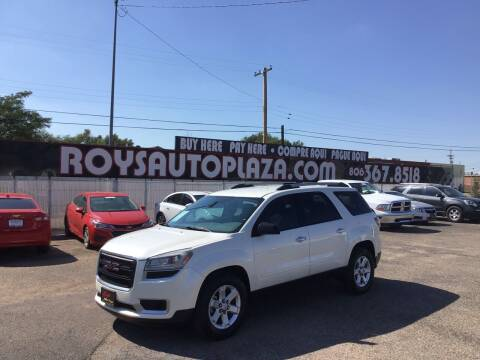 2014 GMC Acadia for sale at Roy's Auto Plaza 2 in Amarillo TX