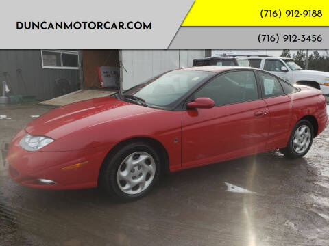 2002 Saturn S-Series for sale at DuncanMotorcar.com in Buffalo NY
