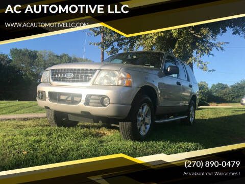 2005 Ford Explorer for sale at AC AUTOMOTIVE LLC in Hopkinsville KY